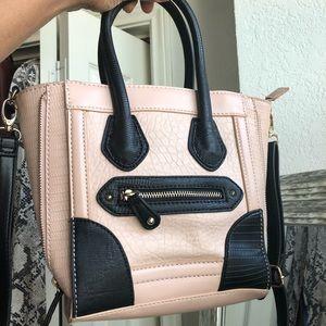 ALDO Blush Pink & Blk Crossbody Bag